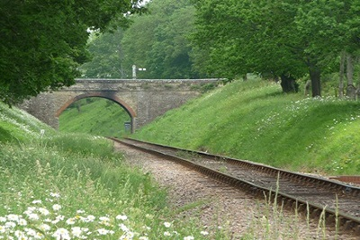 Horsted House Bridge from Horsted House foot crossing