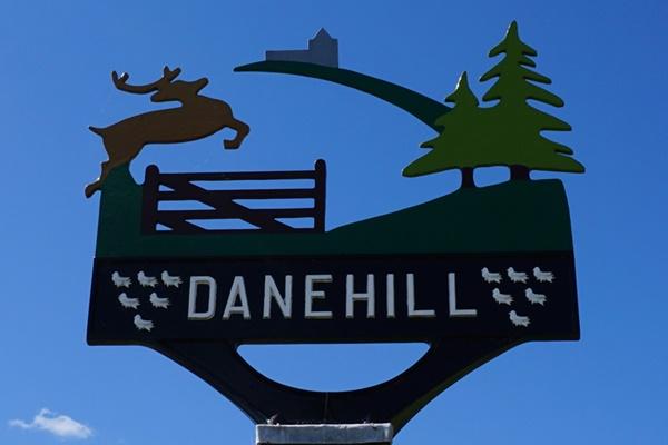 Dane Hill village sign