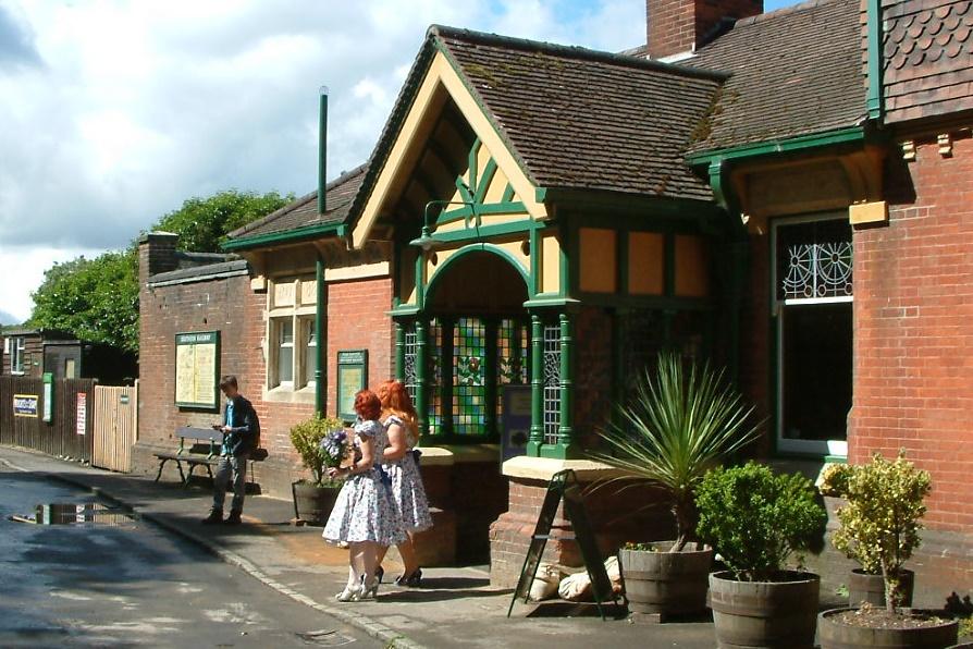 Horsted Keynes Station entrance