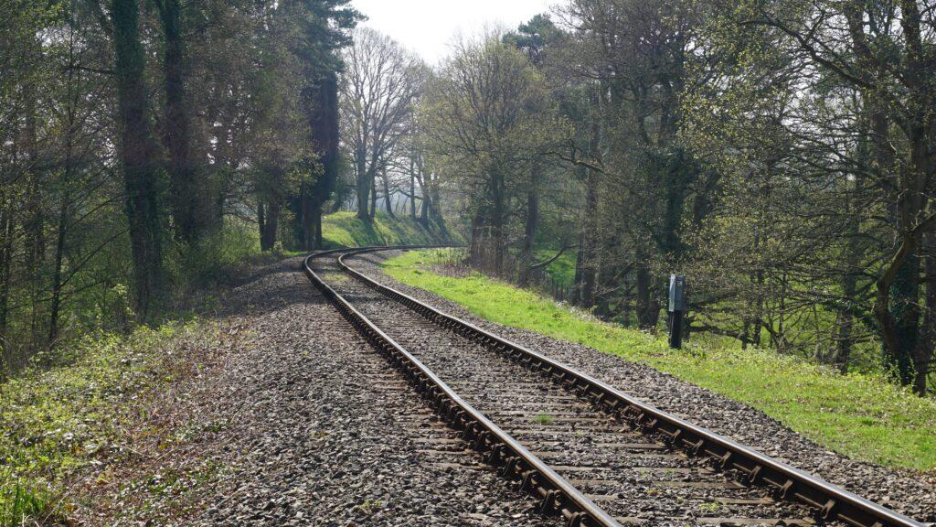 Bluebell Railway at Birch Farm Foot Crossing