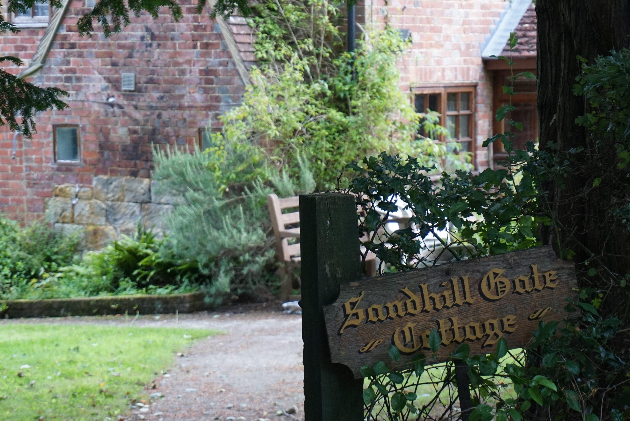 Grand Houses Along Sandhill Lane