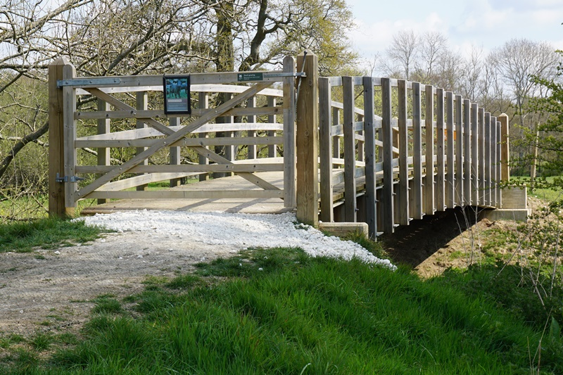 Bridge Over River Ouse at Sheffield Park