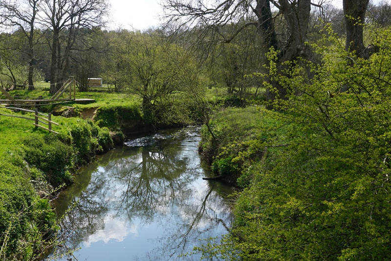 River Ouse at Sheffield Park