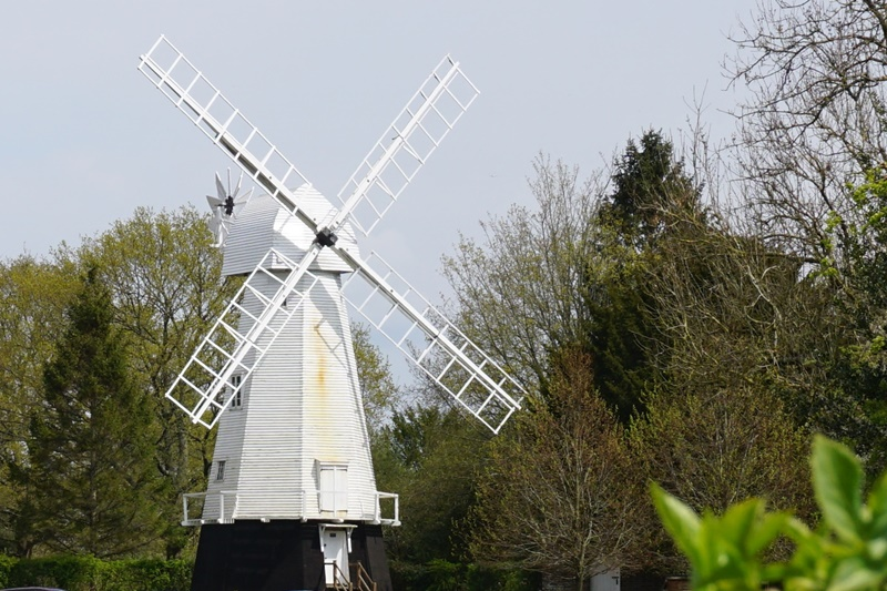 Windmill at St Georges, Chailey Common